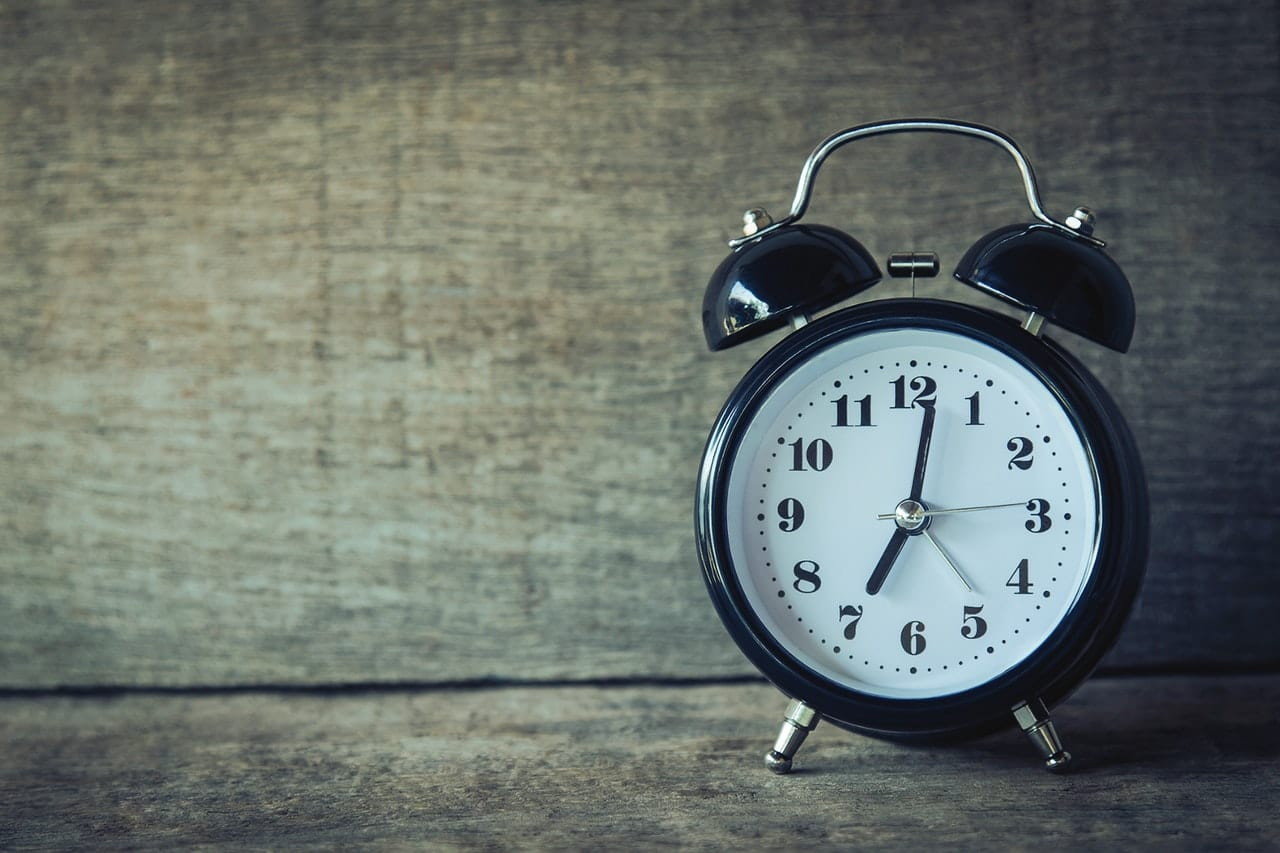 Set Alarm for 15 Minutes